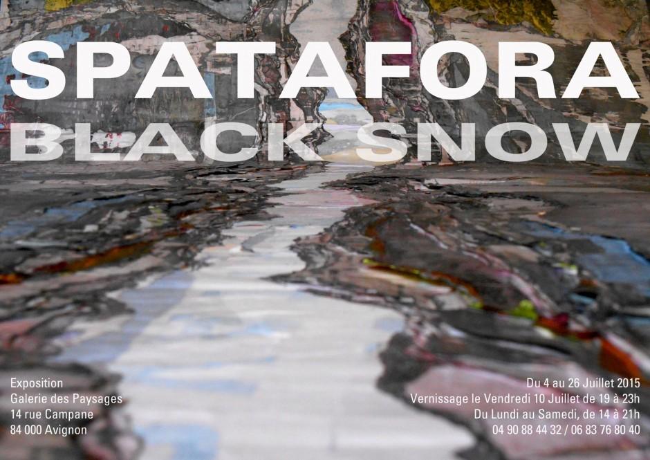 Black Snow du 04 au 26 juillet 2015 – Avignon
